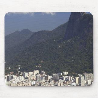 Corcovado overlooking Rio de Janeiro, Brazil Mouse Pad