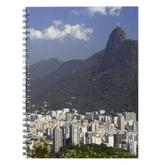 Corcovado overlooking Rio de Janeiro, Brazil Notebooks