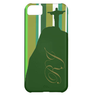 Corcovado with RJ initials iPhone 5C Case