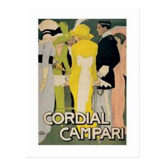 Cordial Campari 2 Postcards