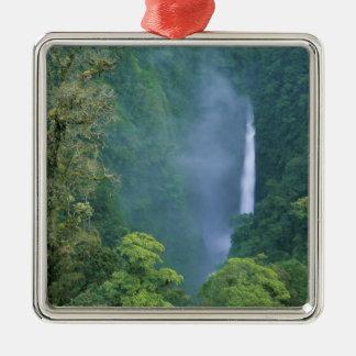 Cordillera Central, Angel Congo) Falls, many Silver-Colored Square Decoration