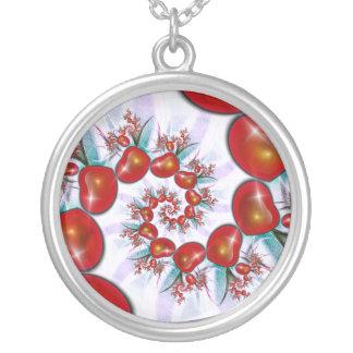 Cordis Iter Round Pendant Necklace