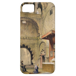 Cordoba: Monk praying at a Christian altar in the iPhone 5 Cover