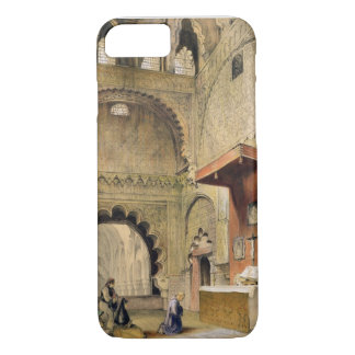 Cordoba: Monk praying at a Christian altar in the iPhone 8/7 Case