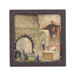 Cordoba: Monk praying at a Christian altar in the Premium Gift Boxes
