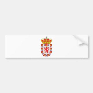 Córdoba (Spain) Coat of Arms Bumper Stickers