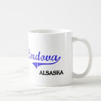 Cordova Alaska City Classic Basic White Mug