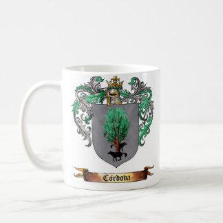 Cordova Shield of Arms Classic White Coffee Mug
