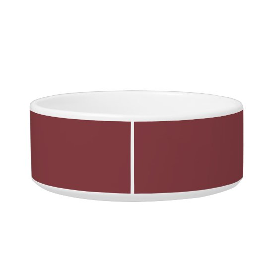 Cordovan High End Solid Colour Cat Food Bowl