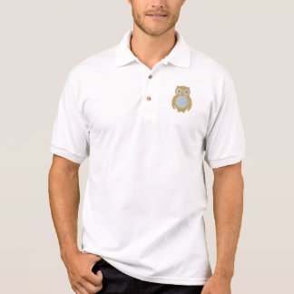 Corduroy Owl Polo Shirt