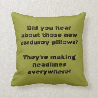 Corduroy Pillows Are Making Headlines Everywhere! Throw Cushions