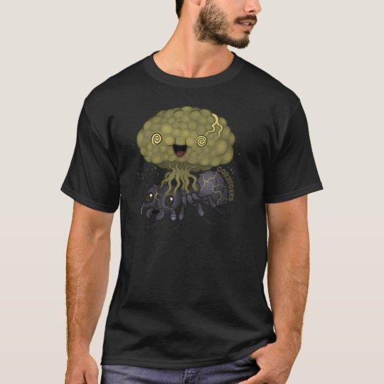 Cordyceps Fungus - black ant T-Shirt