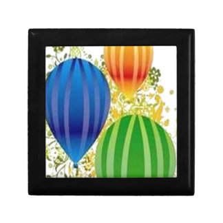 Corel ballons design jewelry box