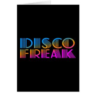 COREY TIGER 1980s RETRO DISCO FREAK MULTICOLOR Card