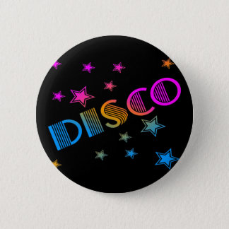 COREY TIGER 1980s RETRO DISCO STARS 6 Cm Round Badge