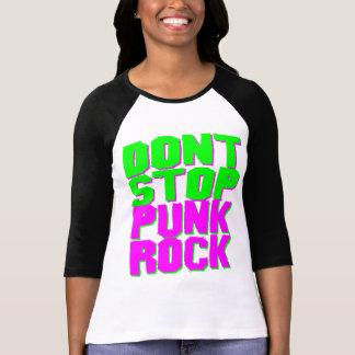 COREY TIGER 1980s RETRO DON'T STOP PUNK ROCK T-Shirt