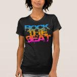 COREY TIGER 1980s RETRO ROCK THE  BEAT Shirt