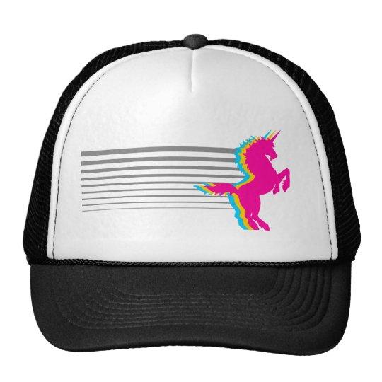 Corey Tiger 1980S Retro Vintage Unicorn Cap