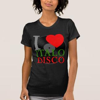 Corey Tiger 80s Retro I Love Italo Disco T Shirt