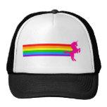 Corey Tiger 80s Retro Vintage Rainbow Unicorn Cap