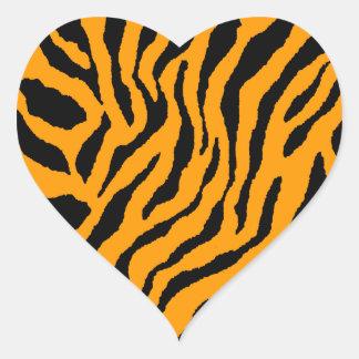 Corey Tiger 80s Tiger Stripes Stickers
