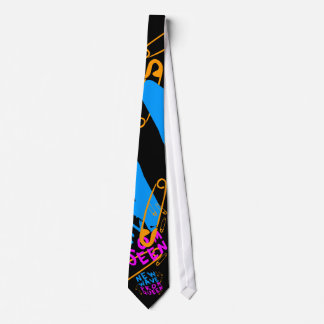 Corey Tiger 80s Vintage New Wave Prom Queen Tie