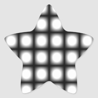 Corey Tiger 80s Vintage Op Art Star Stickers
