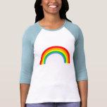 Corey Tiger 80s Vintage Rainbow T Shirts