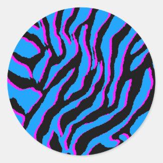 Corey Tiger 80s Vintage Tiger Stripes Sticker