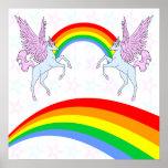 Corey Tiger 80s Vintage Unicorns Rainbows Stars