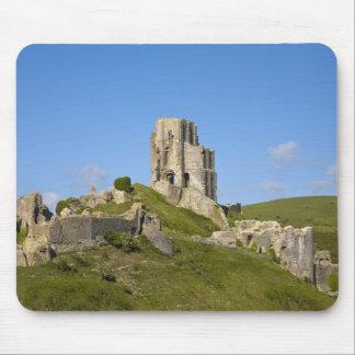 Corfe Castle, Corfe, Dorset, England Mouse Pad