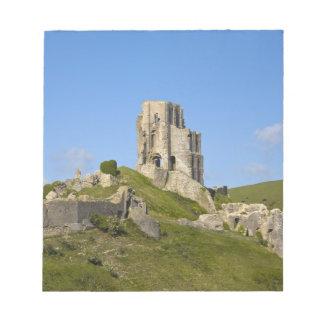 Corfe Castle, Corfe, Dorset, England Notepad