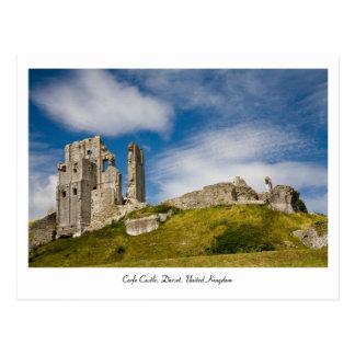 Corfe Castle, Dorset, United Kingdom Postcard