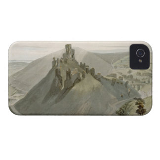 Corfe Castle, from 'A Voyage Around Great Britain iPhone 4 Cases