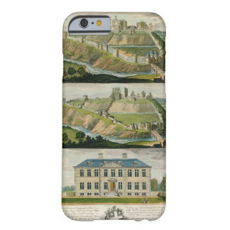 Corfe Castle in its original state, as a ruin, and Barely There iPhone 6 Case