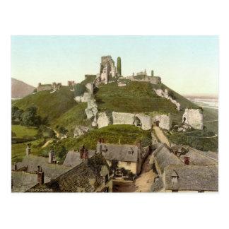 Corfe Castle, Isle of Purbeck, Dorset c.1895 Postcard