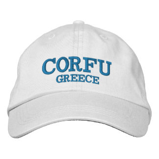 Corfu Greece Custom Hat