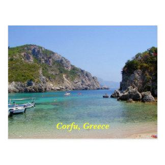Corfu Greece Post Card