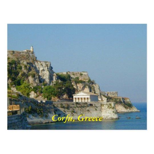 Corfu, Greece Postcard