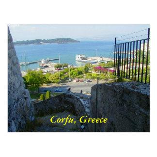 Corfu, Greece Postcards