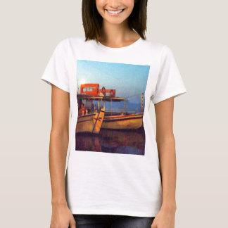 Corfu Town Harbour - Greek Harbour T-Shirt