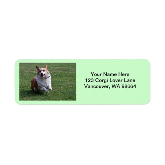 Corgi Address Labels