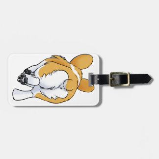 Corgi Butt Luggage Tag