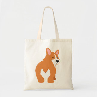 Corgi Butt Tote Bag