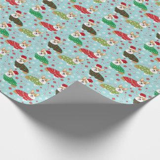 Corgi Christmas Sweater Gift Wrap