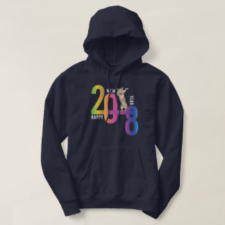 Corgi Collection Year of the Dog 2018 Hoodie