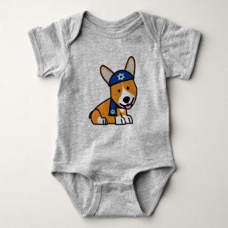 Corgi Corgis dog puppy doggy happy Pembroke Welsh Baby Bodysuit