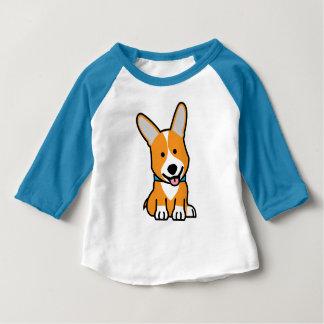 Corgi Corgis dog puppy doggy happy Pembroke Welsh Baby T-Shirt