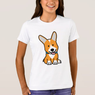 Corgi Corgis dog puppy doggy happy Pembroke Welsh T-Shirt