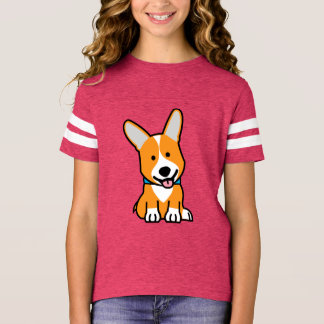 Corgi Corgis dog puppy doggy happy Pembroke Welsh T-Shirt